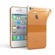 Ultra Slim Cover für Apple iPhone 4 / 4S TPU Case Silikon Hülle Gold
