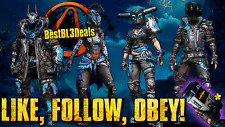 Borderlands 3 PAX Event Like Follow Obey Heads + Skins + ECHO! PC XBOX1 PS4! BL3