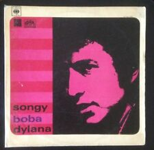 Bob Dylan~ Songy Boba Dylana RARE CZECH Only Cover/Comp