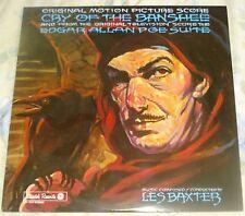 CRY OF THE BANSHEE/POE SUITE (Les Baxter) original mint USA stereo lp (1980)