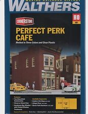 HO Scale Walthers Cornerstone 933-3468 Perfect Perk Cafe Building Kit
