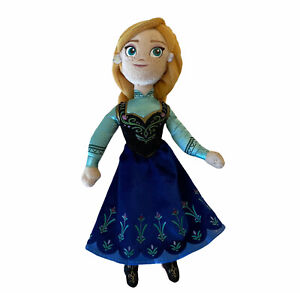 "Disney Frozen Princess Anna Plush 10"" Doll Stuffed Toy"