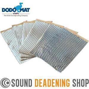 Sound Deadening Dodo Mat DEADN ® Hex 6 Sheets 6sq.ft Car Vibration Proofing
