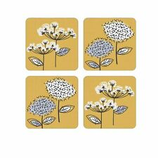 Cooksmart Retro Meadow Pack of 4 Coasters