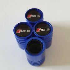 RS3 BLUE DUST VALVE CAPS 13 colours NON STICK for all Models