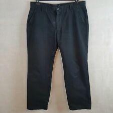 GANT New Haven Mens Chino Trousers Navy W36 L32 Cotton Normal Waist Regular Fit
