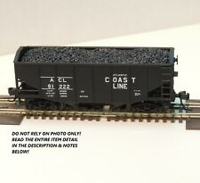N SCALE: 55 TON FISHBELLY HOPPER - ATLAS #41314 - ATLANTIC COAST LINE  #81222