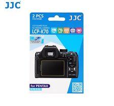 JJC 2pcs LCD Guard Film Camera Screen Display Protector for Pentax KP K-70 K-s2