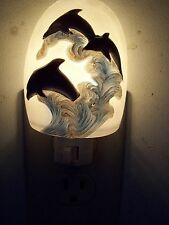 Colorful Dolphin Nautical Night Light Nightlight, On/Off Switch, Free Shipping