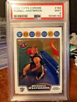 2008 Topps Chrome #184 - RUSSELL WESTBROOK - Rookie PSA 9! HOF! QTY