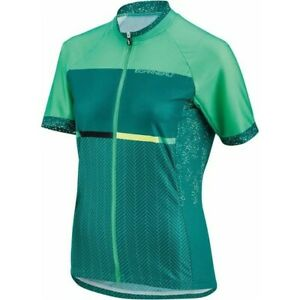 Louis Garneau Cycling Jersey Equipe GT Zip up women small green