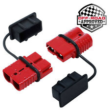 Battery Quick Connect Disconnect Electrical Plug Kit - 2-4 Gauge Winch Trailer
