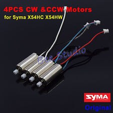 4pcs CW CCW Motors engine for Syma X54HC X54HW RC Quadcopter Drone Spare Parts
