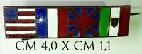 1977) Distintivo Bandierine Nazioni Alleate 1a Guerra Mondiale