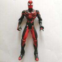 "Marvel Air Strike Spider-Man - 5"" ToyBiz Rare Action Figure Black And Red Suit"