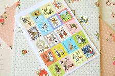 Wizard of Oz cute cartoon stamp stickers craft planning scrapbook deco sticker