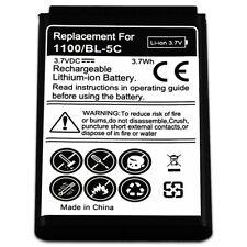 B2G1 Free NEW 3.7v Battery for Nokia BL 5C 1101 1110 1112 1200 N 91 70 72 6822