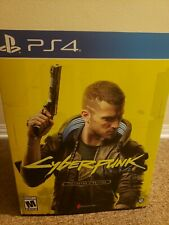 Cyberpunk 2077 Collector's Edition Sony PlayStation 4 PS4 IN HAND READY TO SHIP