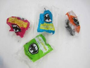 1991 McDonald's Happy Meal BATMAN RETURNS Complete Set of 4 New Sealed