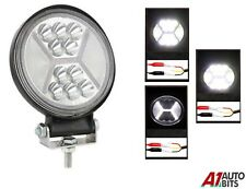 126w Round Led 12v 24v Work Spot Flood Light Lamp Off-Road Jeep Truck Boat Atv