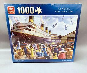 King KNG05134 Titanic Jigsaw Puzzle 1000-Piece, Multicoloured, 68 x 49 cm