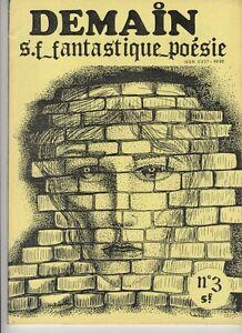 (162B) Demain Science Fiction Fantastique Poésie N°3