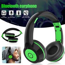 Bluetooth Stereo Headphones Foldable Kids DJ Sports Headset for iPod PC MP3