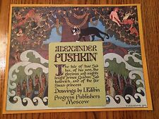 Children's Stories by Alexander Pushkin - Paperbacks 70's and 80's - 4 titles