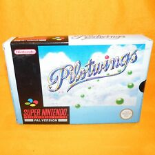 VINTAGE 1992 SUPER NINTENDO ENTERTAINMENT SYSTEM SNES PILOTWINGS GAME BOXED PAL