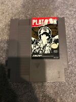 Platoon (Nintendo Entertainment System, 1988) Working Game Only