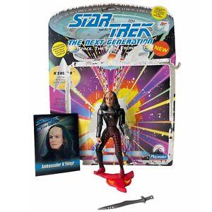 Star Trek Next Generation 93 KEhleyr Klingon Ambassador Action Figure Stock 6059