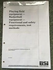 BS EN 1270:2005 - Playing field equipment. Official Basketball equipment