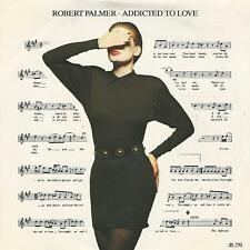 "ROBERT PALMER "" ADDICTED TO LOVE / REMEMBER TO REMEMBER"" 7"" UK PRESS"