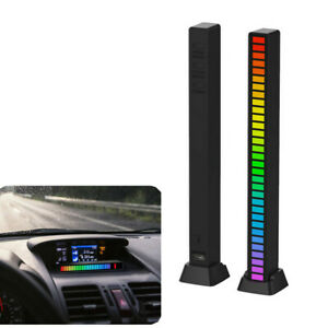Colorful RGB Music Rhythm Light Ambient Lamp For Car Party Computer APP Control