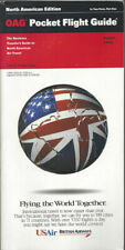 OAG Official Airline Guide North American pocket timetable 8/94 [0042]