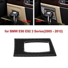 Carbon Fiber Interior Key Hole Frame Cover Trim Decal for BMW 3 Series E90 E92##