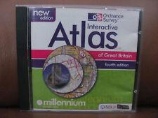 1 CD. Attica Ordinance Survey Interactive Atlas of GB Vintage Software.