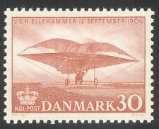 Denmark 1956 Ellehammer/Plane/Aviation/Transport/Flight/History 1v (n37383)