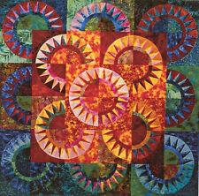 New Quilt Pattern Sunset On Elllis Island 43X43