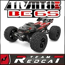 Team Redcat TR-MT8E BE6S Monster Truck 1/8 Scale Brushless Electric Red/Black