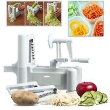 Spiralizer Spirale Slicer Chopper Cutter per frutta e verdura Twister Pelatrice