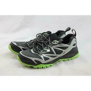 Merrell Capra Men's Black/Silver Hiking Shoe 8.5M (S2982)