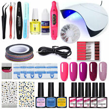 8ml KOSKOE UV Gel Nail Polish Set Nail Dryer Electric Nail Polisher Nail Starter