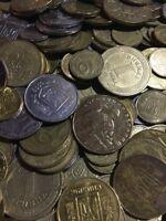 100 Gramm Restmünzen/Umlaufmünzen Ukraine