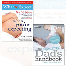 Expectant Dad's Handbook,What to Expect When You're Expecting 2 Books Collection