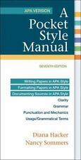 A Pocket Style Manual, APA Version by Diana Hacker and Nancy Sommers 2015 Spiral