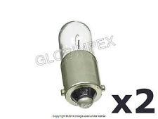Mercedes Side Marker/Taillight Bulb 4w OEM NEW (2) + 1 year Warranty