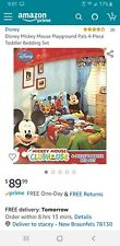 Mickey Mouse -Clubhouse- Disney - toddler bedding