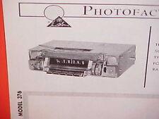 1968 CHRYSLER NEW YORKER 300 NEWPORT CUSTOM CONVERTIBLE AM RADIO SERVICE MANUAL