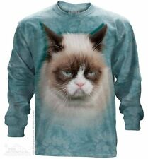 Grumpy Cat The Mountain Long Sleeves T-Shirt Adult Size 3XL